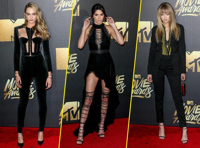 Cara, Kendall et Gigi