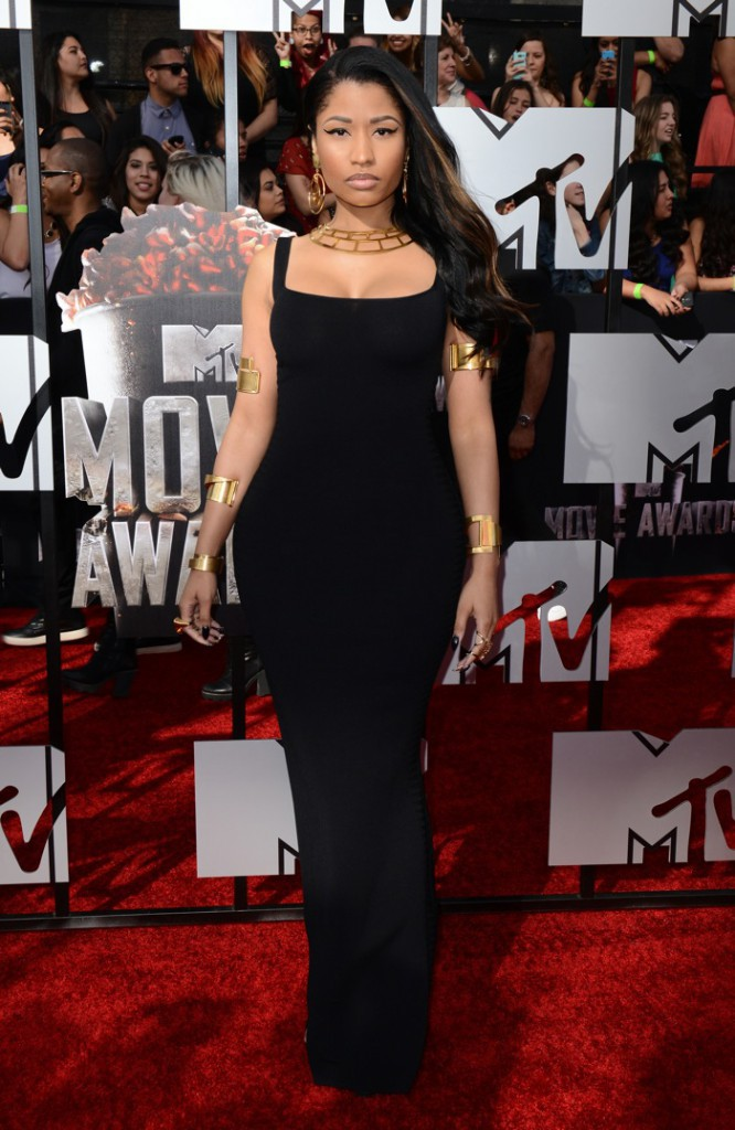 Photos : MTV Movie Awards : Nicki Minaj : gonflée à bloc et ultra-sensuelle sur le tapis rouge !