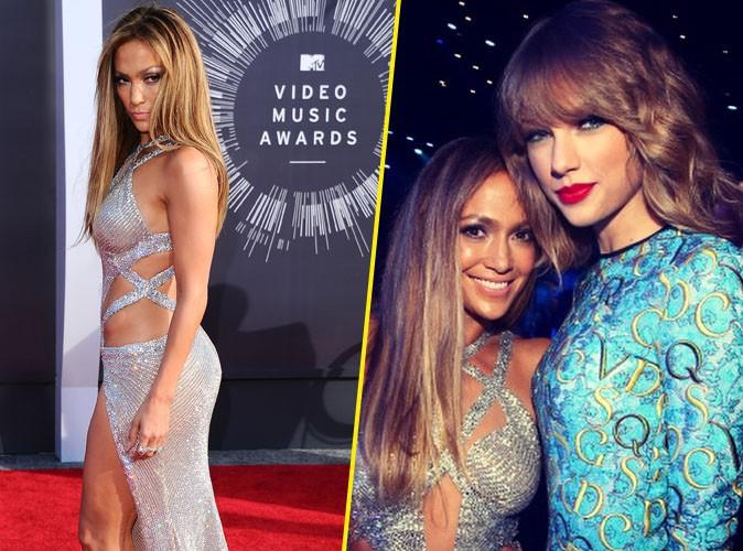 MTV VMA 2014 : Jennifer Lopez : la bomba latina a fait le plein de rencontres lors de la c�r�monie !