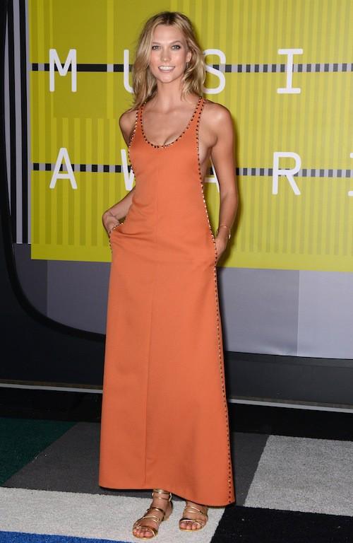 Karlie Kloss aux MTV VMA 2015, le 30 août 2015