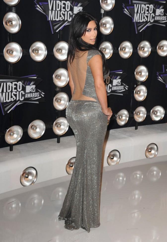 Kim Kardashian lors des MTV VMA's 2011 à Los Angeles, le 28 août 2011.