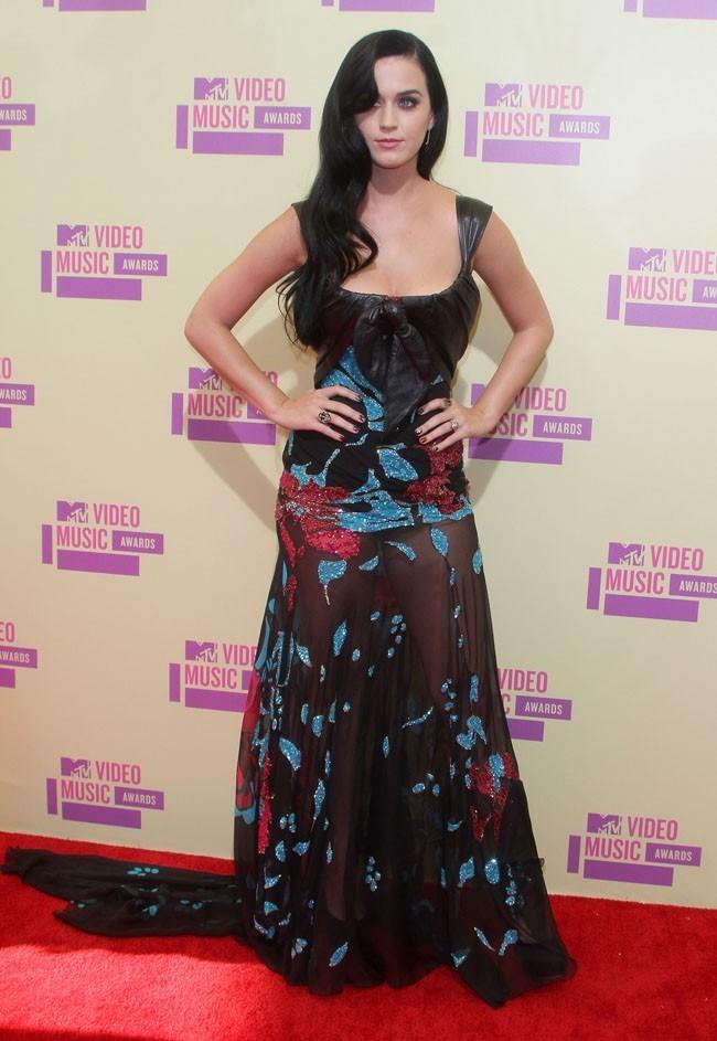 Katy Perry aux MTV VMA's 2012 à Los Angeles le 6 septembre 2012