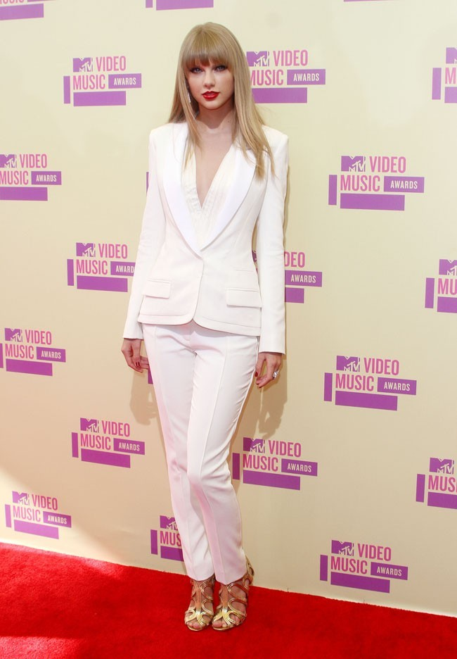 Taylor Swift aux MTV VMA's 2012 le 6 septembre 2012 à Los Angeles
