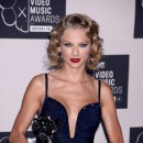 Taylor Swift lors des MTV VMAs à New York, le 25 août 2013.