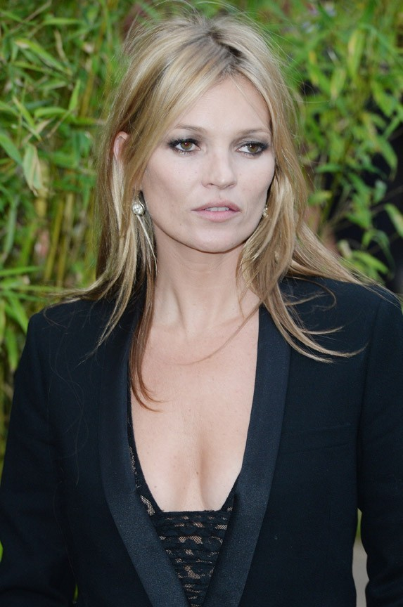 Kate Moss à la Serpentine Gallery Summer Party organisée à Londres le 26 juin 2013
