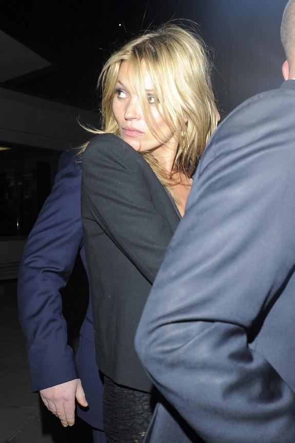 Kate Moss à Londres le 26 juin 2013
