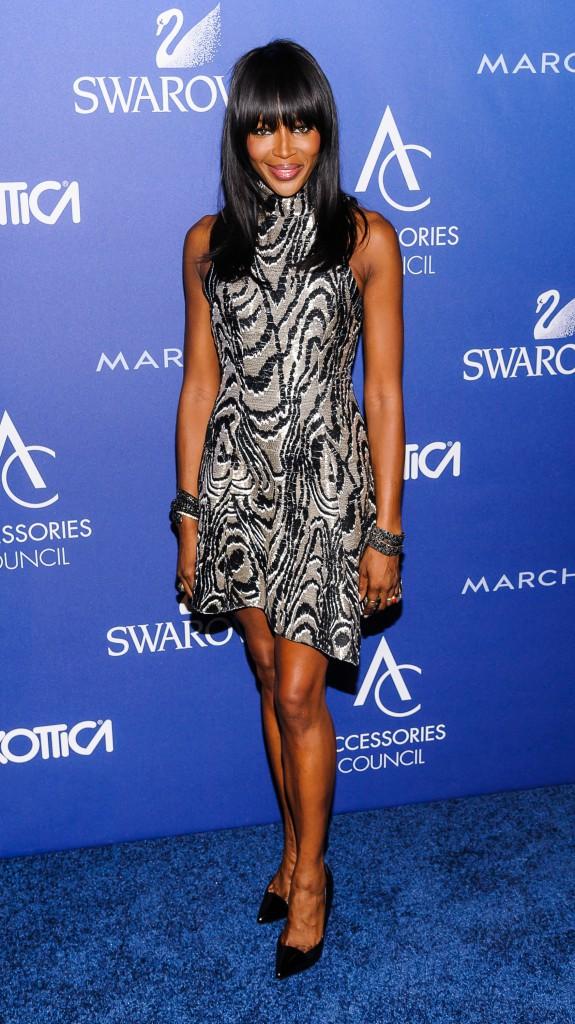 Naomi Campbell le 3 novembre 2014