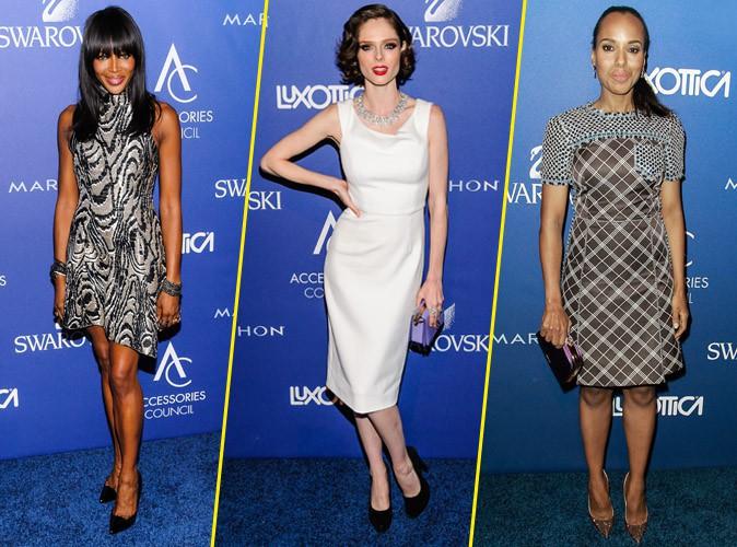 Photos : Naomi Campbell, Coco Rocha, Kerry Washington… Un défilé d'élégance pour les Ace Awards !