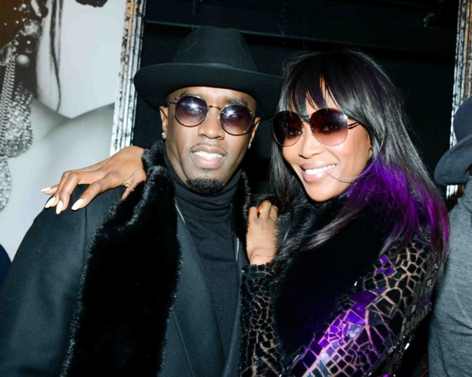 Naomi Campbell : elle s'éclate à la soirée donnée par P. Diddy !