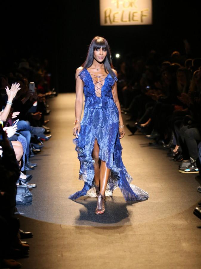 Photos : Naomi Campbell : spectaculaire hôte au défilé Fashion For Relief !