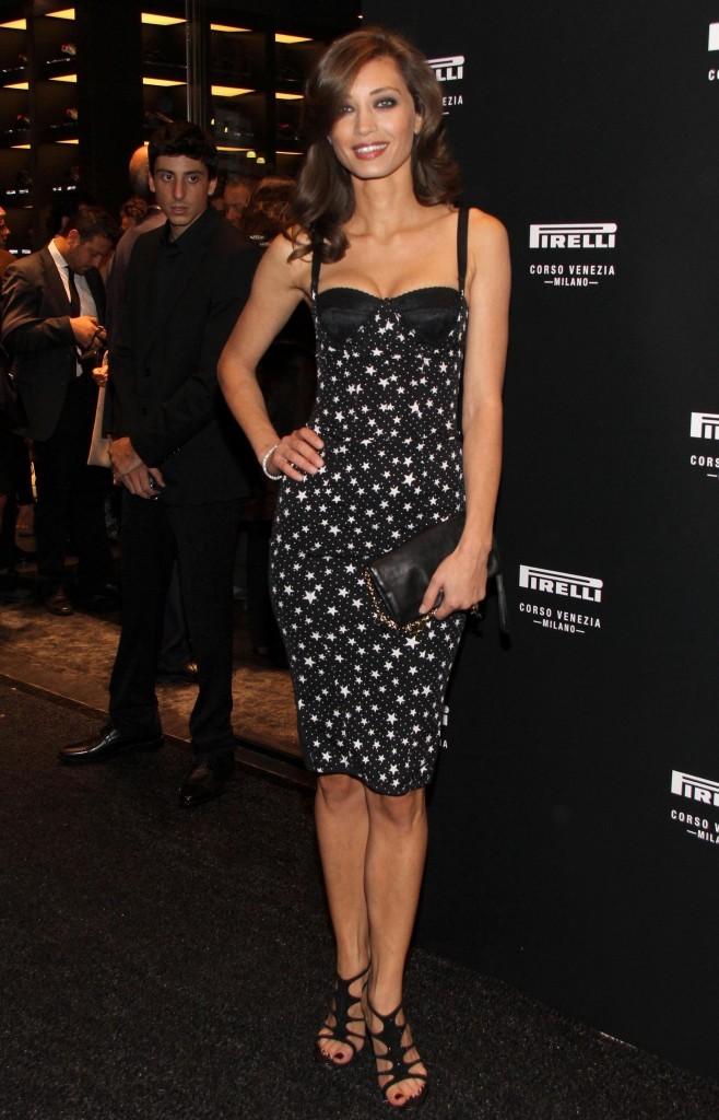Margareth Made lors de l'inauguration de la boutique Pirelli flagship à Milan, le 20 septembre 2011.