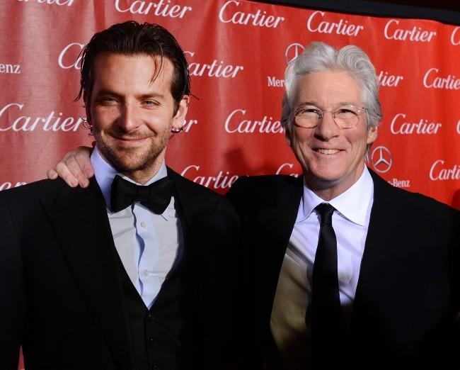 Bradley Cooper, complice avec Richard Gere