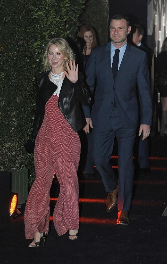 Naomi Watts le 8 janvier 2015