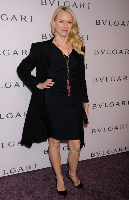 Naomi Watts lors de la soirée Bvlgari's Celebration of Elizabeth Taylor's Collection à Beverly Hills, le 19 février 2013.