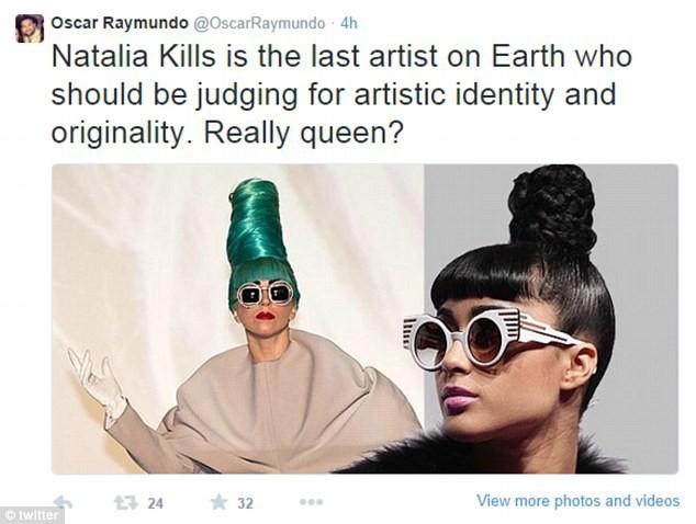 Photos : Natalia Kills : à son tour d'être la risée !