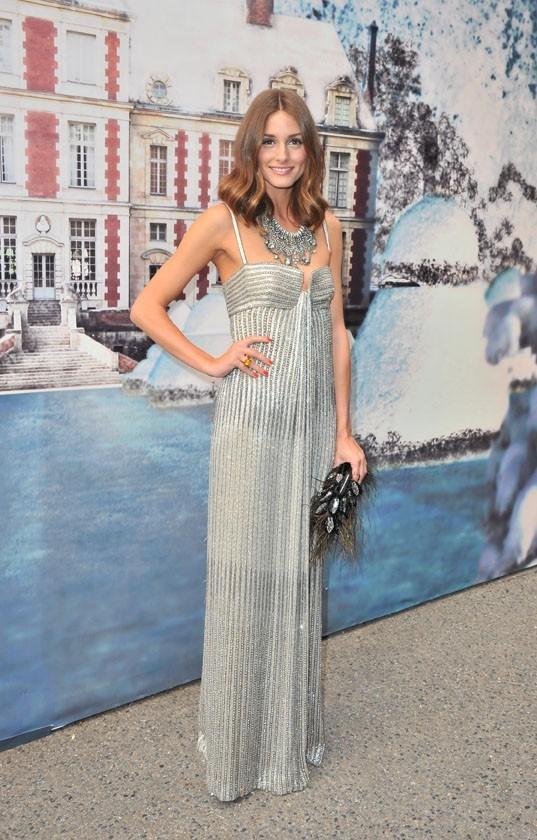 Olivia Palermo lors de la soirée White Fairy Tale Love Ball à Paris, le 6 juillet 2011.