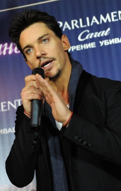 Jonathan Rhys-Meyer le 15 novembre 2012 à Moscou