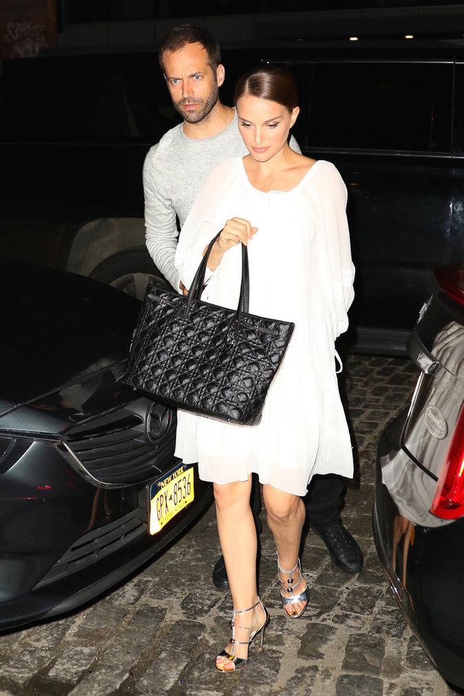 Natalie Portman à New York le 15 août 2016