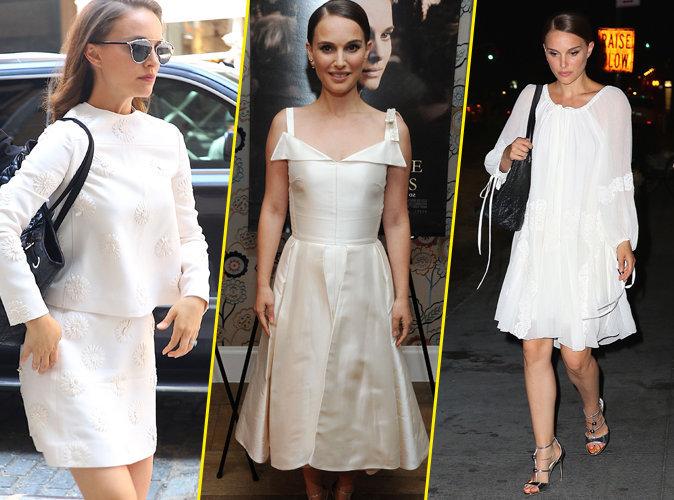 Photos : Natalie Portman : Angélique, elle se la joue cygne blanc à New York !