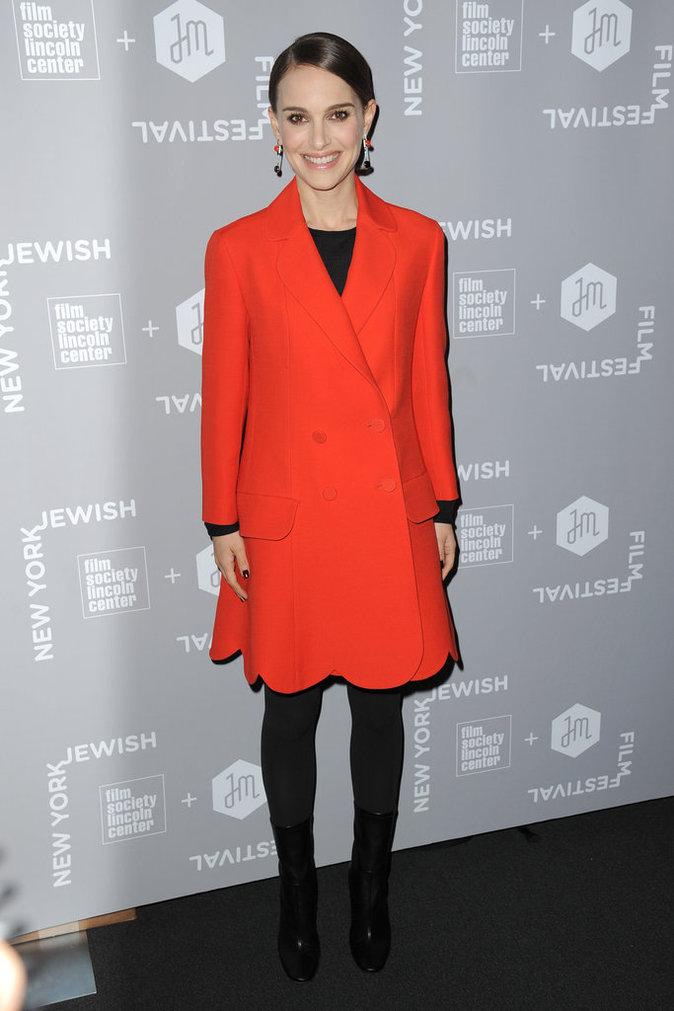 Natalie Portman, éblouissante au New York Jewish Film Festival