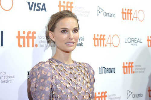 Photos : Natalie Portman envoûtante et généreuse !