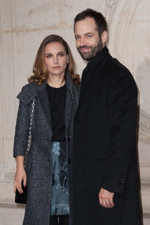 Photos : Natalie Portman et Benjamin Millepied : duo au charme fou pour Dior Haute Couture !