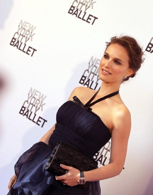 Natalie Portman lors du NYC Ballet's Gala à New York, le 10 mai 2012.