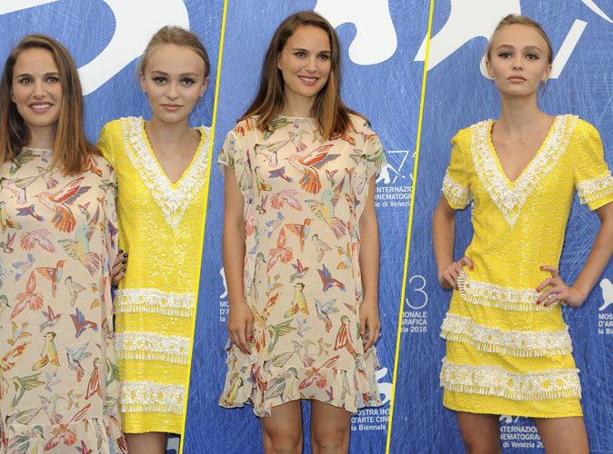 """Photos : Natalie Portman et Lily-Rose Depp : duo d'actrices complice et de toute beauté pour """"Planetarium"""""""