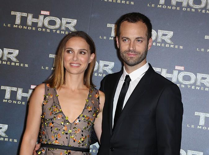 Natalie Portman et Benjamin Millepied à Paris le 23 octobre 2013