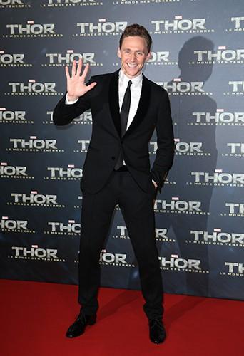 Tom Hiddleston à Paris le 23 octobre 2013
