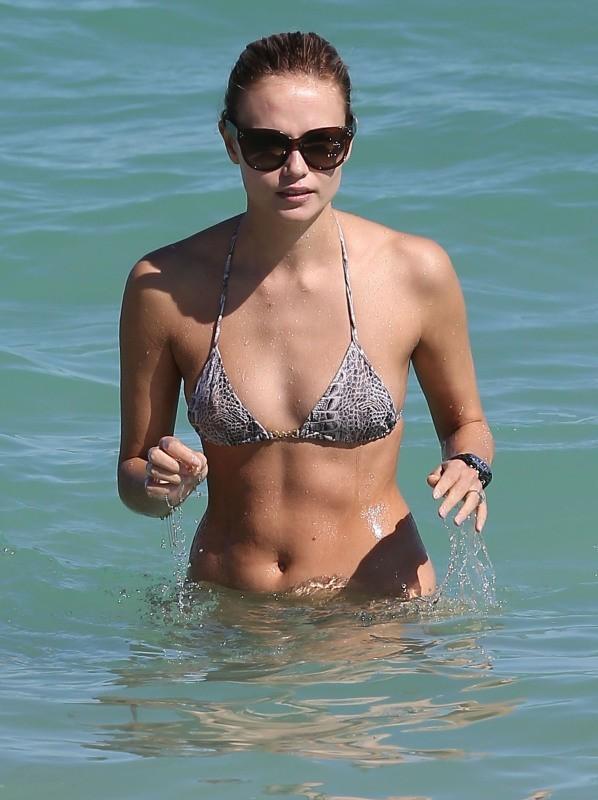 Natasha Poly le 3 novembre 2012 à Miami