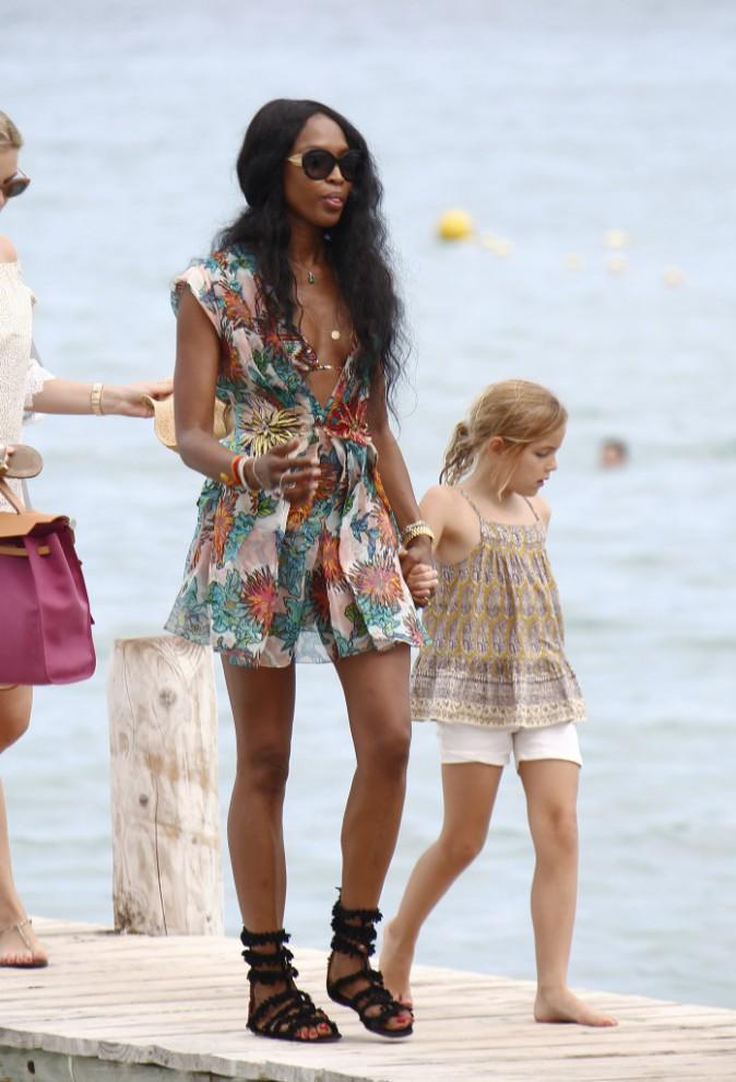 Naomi Campbell à St Tropez
