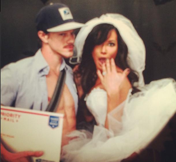Photos : Naya Rivera : mariée sexy pour Halloween !