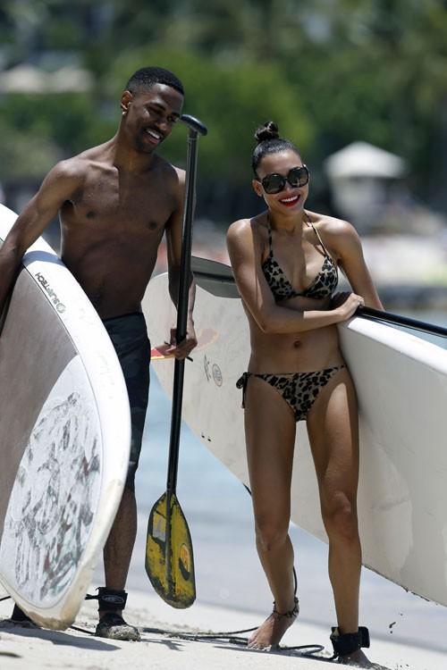 Naya Rivera et Big Sean