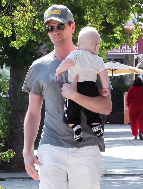 Neil avec son fils Gideon !