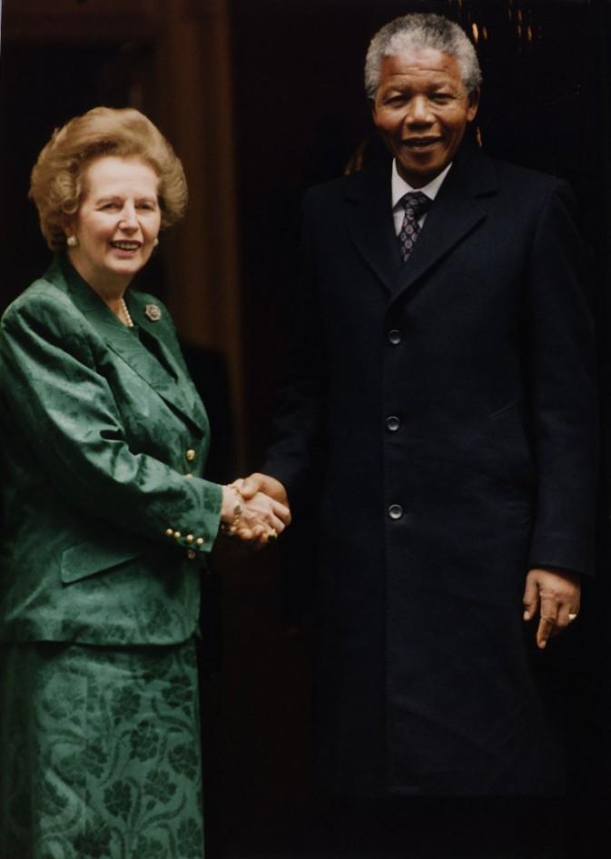 Nelson Mandela et Margareth Thatcher !