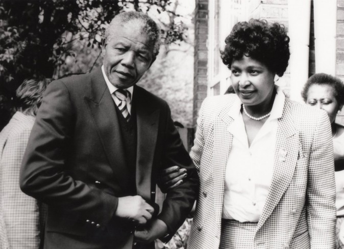 Nelson Mandela et sa femme Winnie !