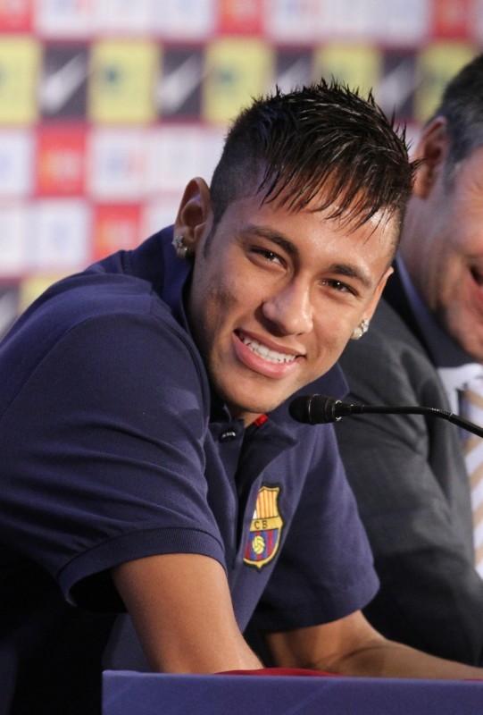 Neymar, Barcelone, 3 juin 2013.