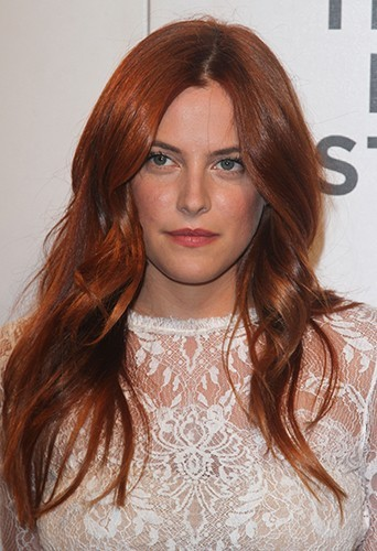 Riley Keough à New-York au mois d'avril