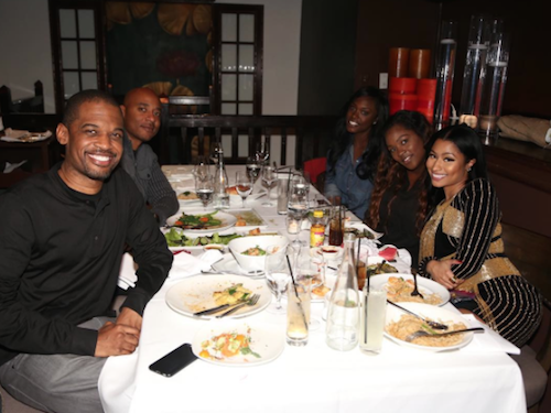 Photos : Nicki Minaj brille de mille feux pour un simple dîner !