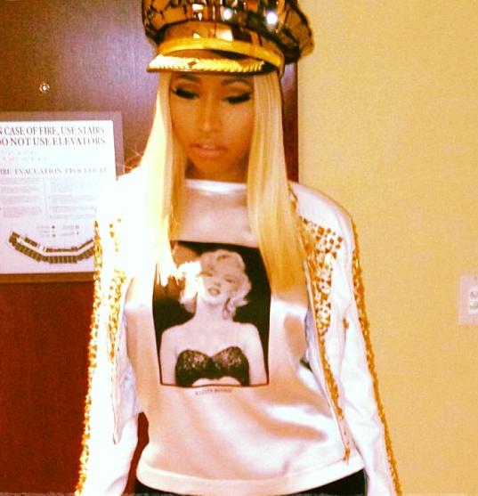 Nicki Minaj : c'est elle le capitaine de soirée !