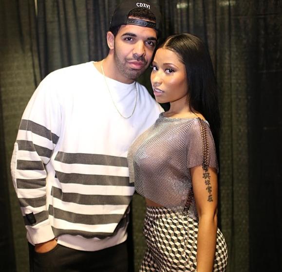 Photos : Nicki Minaj : c'est hot avec Drake et ce sous les yeux de… Rihanna !