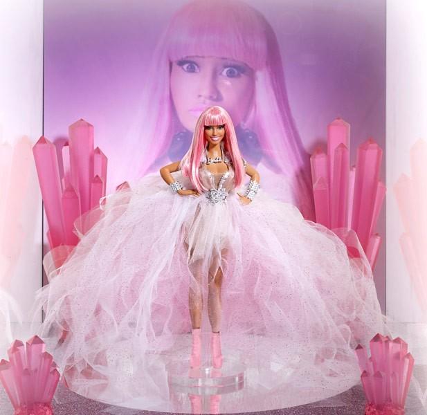 Nicki est un peu plus sage en Barbie qu'en vrai...