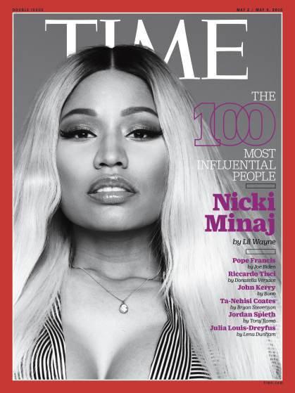 """Photos : Nicki Minaj parmi les personnalités les plus influentes du """"Time"""""""