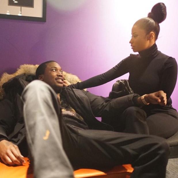 Photos : Nicki Minaj : fan number one de Meek Mill, quand l'amitié laisse place à l'amour !