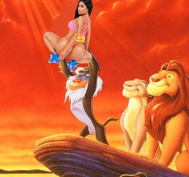 Photos : Nicki Minaj : la pochette hot de son dernier single moquée et détournée !