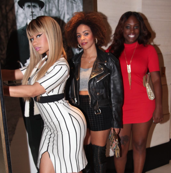 Nicki Minaj le 2 octobre 2015