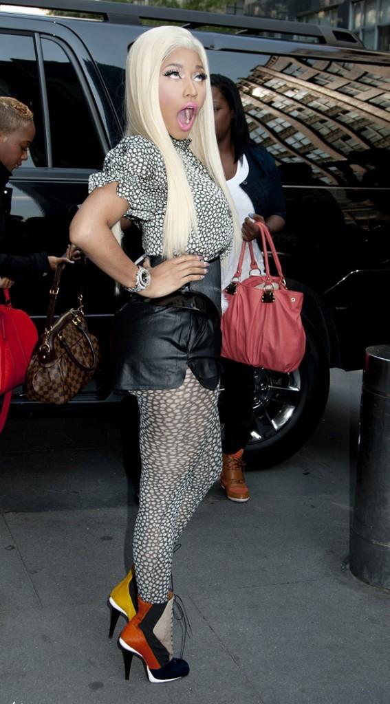 Nicki Minaj à New-York le 17 septembre 2012 pour les auditions d'American Idol !