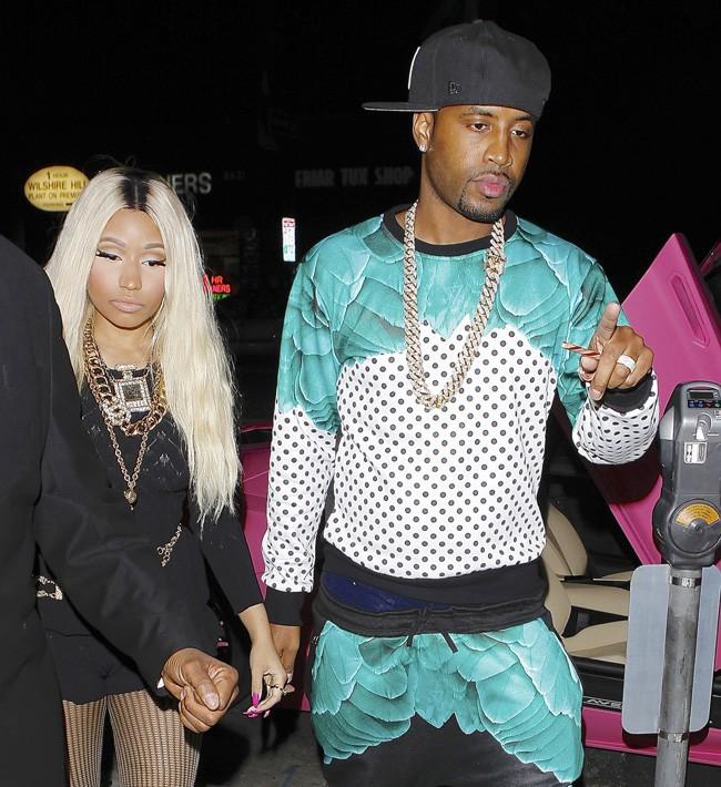 Nicki Minaj de sortie à Los Angeles pour son anniversaire le 8 décembre 2013