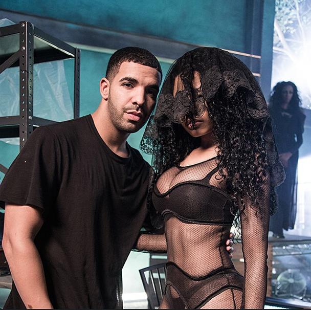 Nicki Minaj et Drake le 17 novembre 2014